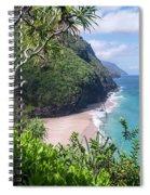 Hanakapiai Beach Spiral Notebook