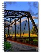 Hanalei Bridge Spiral Notebook