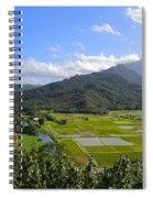 Hanalei River Overlook In Kauai Spiral Notebook
