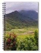 Hanalei Valley Panorama Spiral Notebook