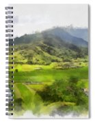 Hanalei Valley Spiral Notebook