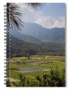 Hanalei Valley Taro Fields - Kauai Spiral Notebook