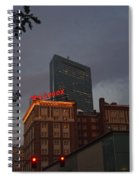 Hancock Over The Lenox Boston, Ma Spiral Notebook