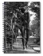 Hand In Hand Spiral Notebook