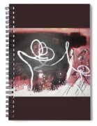 Hand In Hand2 Spiral Notebook