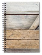 Hand Tool - Old Wood Planer Spiral Notebook