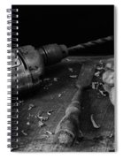 Hand Tools 3 Spiral Notebook
