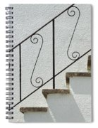 Handrail And Steps 2 Spiral Notebook