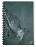 Hands Of An Apostle Spiral Notebook