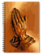 Hands Of God  Spiral Notebook
