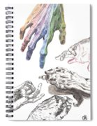 Hands Of The Masters Spiral Notebook