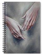 Hands Study Spiral Notebook