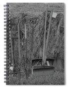 Handtools Bw Spiral Notebook