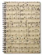 Handwritten Score Spiral Notebook