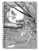 Hangin' Around Spiral Notebook