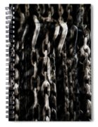 Hanging Chains Spiral Notebook