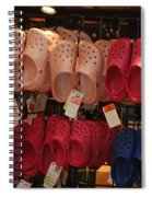Hanging Crocs Spiral Notebook