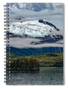Hanging Glacier Spiral Notebook