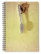 Hanging Knife On Jute Twine Spiral Notebook