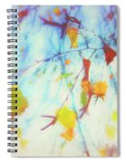 Hanging Leaves Spiral Notebook