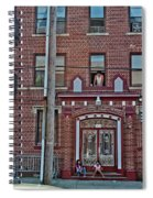 Hanging Out In Brooklyn Spiral Notebook