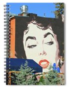 Hanging Out With Elizabeth Taylor Spiral Notebook