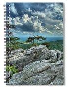 Hanging Rock Overlook Spiral Notebook