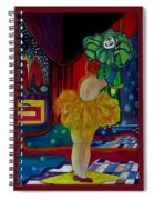 Hanging Up The Clown Spiral Notebook
