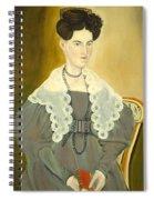 Hannah Fisher Stedman Spiral Notebook