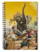 Hannibal And Scipio Spiral Notebook
