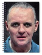 Hannibal Lecter Spiral Notebook