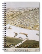 Hannibal, Missouri, 1869 Spiral Notebook
