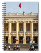 Hanoi Opera House 01 Spiral Notebook