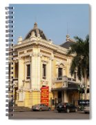 Hanoi Opera House 02 Spiral Notebook