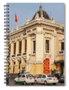 Hanoi Opera House 04  Spiral Notebook