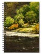 Lewis River Lagoon Spiral Notebook