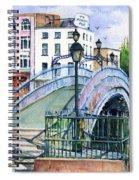 Ha'penny Bridge Dublin Spiral Notebook