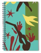 Happiness - Celebrate Life 4 Spiral Notebook