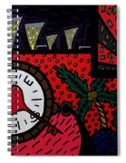 Happiness 1 Spiral Notebook