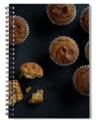 Happiness Is Only A Cupcake Away Spiral Notebook