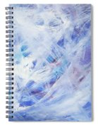 Happy Abstract Spiral Notebook