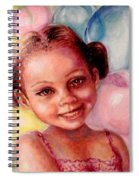 Happy Balloons Spiral Notebook