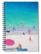 Happy Beach Days Spiral Notebook