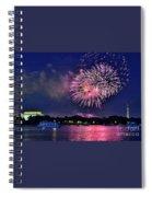 Happy Birthday America # 2 Spiral Notebook