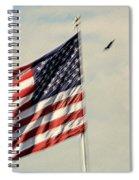 Happy Birthday America Spiral Notebook