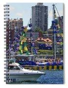 Happy Birthday Australia Spiral Notebook
