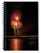 Happy Birthday United States Of America 3 Spiral Notebook