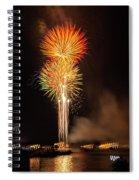 Happy Birthday, United States Of America 9 Spiral Notebook