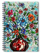 Happy Bouquet Spiral Notebook