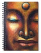 Happy Buddha Spiral Notebook